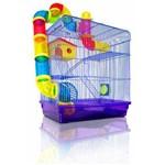 Gaiola Hamster 3 Andares Labirinto American Pets