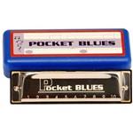 Gaita Dolphin Pocket Blues 20 Vozes C (Dó)