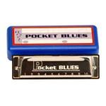 Gaita Pocket Blues 20 Vozes do Abs Dolphin