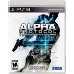 Game - Alpha Protocol - Playstation 3
