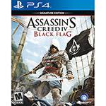 Game Assassin'S Creed IV - Black Flag Signature Edition (Versão em Português) - PS4