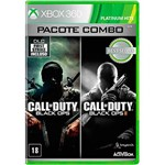Game Combo: Call Of Duty Black Ops I & II - XBOX 360