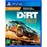 Game Dirt Rally - PS4