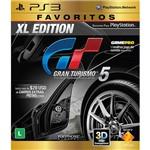 Game Gran Turismo 5 Xl Edition - Favoritos - PS3