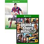 Game - GTA V + FIFA 15 - Xbox One