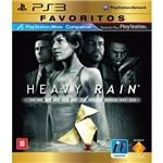 Game Heavy Rain - Favoritos - PS3