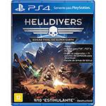 Game Helldivers - Edição Final do Super Earth - PS4