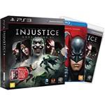 Game Injustice - Gods Among Us - Edição Especial Limitada Incluindo Filme Liga da Justiça: a Legião do Mal + Skins para Download - PS3