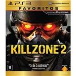Game Killzone 2 - Favoritos - PS3
