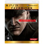 Game - Metal Gear Solid 4: Favoritos - PS3