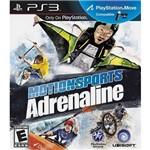 Game Motionsports Adrenaline Ubi - PS3