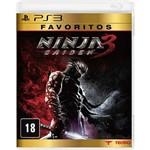 Game - Ninja Gaiden 3 - Favoritos - PS3