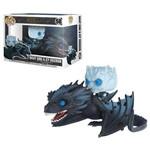 Game Of Thrones - Boneco Pop Funko Rei da Noite e Icy Viserion (Brilha no Escuro)