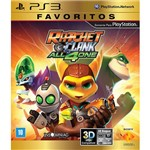 Game - Ratchet And Clank: All 4 One - Favoritos - PS3