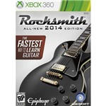 Game Rocksmith 2014 - The Fastest Way To Learn Guitar - XBOX 360