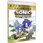 Game - Sonic Generations: Favoritos - PS3