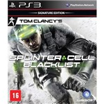 Game Tom Clancy's Splinter Cell: Blacklist Signature Edition - Versão em Português - PS3
