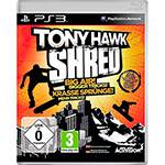 Game Tony Hawk - Shred - PS3