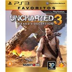 Game Uncharted 3: Drake's Deception - Favoritos - PS3