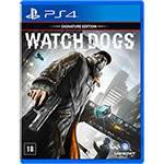Game - Watch Dogs: Signature Edition (Versão em Português) - PS4