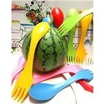 Garfo com Colher Integrada Infantil A920 Basic Kitchen