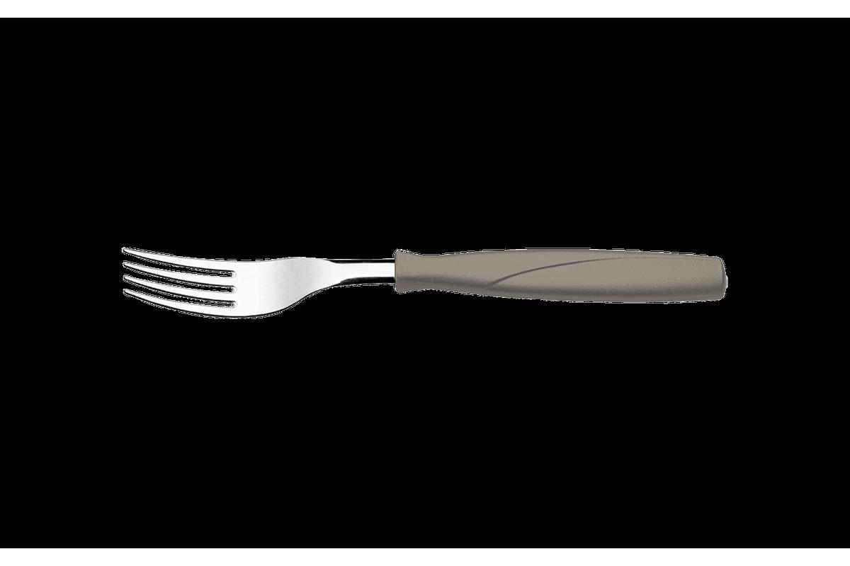 Garfo de Mesa Itaparica 1 Mm Warm Gray Coza Brinox