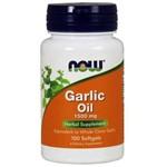 Garlic Oil Now Foods - Óleo de Alho 1500mg - 100 Softgels