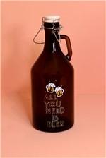 Garrafa de Cerveja Tudo que Você Precisa e Cerveja