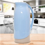 Garrafa Térmica Celebrar 1 Litro Azul Azul