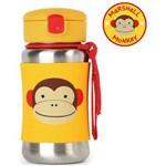 Garrafinha de Aço Inox Macaco Zoo Skip Hop 12m+ - A-23-004