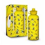 Garrafinha Squeeze Abelhinha Amarelo Alumínio Térmica 500ml