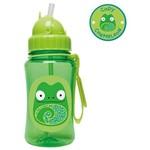 Garrafinha Straw Bottle Camaleão Zoo Skip Hop 12m+ - A-15-023