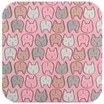 Gataria Mouse Pad Rosa/multicor