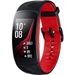 Gear Fit2 Pro Preto/ Vermelho Pulseira G - Samsung