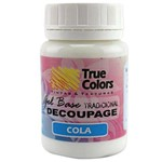 Gel Base Decoupage Tradicional True Colors 80 Ml