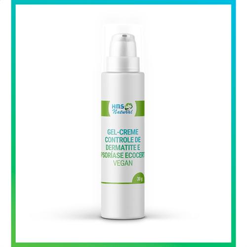 Gel-creme Controle de Dermatite e Psoríase Ecocert Vegan 30 Gramas