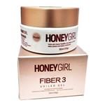Gel Honey Girl Fiber3 Nude Construção de Unha em Gel 30gr