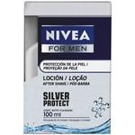 Gel Pós Barba Nivea Silver Protect 100ml