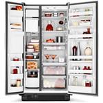 Geladeira / Refrigerador Brastemp All Black Side By Side Preto 540 Litros