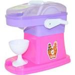 Gelateria Infantil Calesita - 3 Acessórios - Lilás/rosa