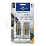 Gelato Faber Castell Tons Mascarados com 4 Cores