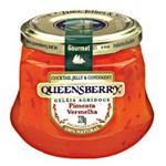 Geleia Sabor Pimenta Vermelha Queensberry 320g