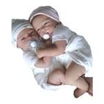 Gemeos Bebe Reborn Molde Importado Autentico