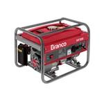 Gerador a Gasolina 3400W B4T3500 Branco Vermelho