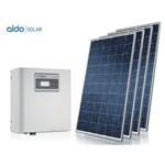 Gerador de Energia Ecosolys Ondulada Aldo Solar Gef-2640em 2,64kwp Ecosolys Mono 220v Canadian