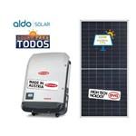 Gerador de Energia Fronius Solo Aldo Solar Gef 60,3kwp Byd Poli Half Cell Eco 25kw 1mppt Trif 380v