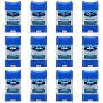 Gillette Clear Gel Desodorante Dry Stick Antibacteriano 82g (kit C/12)