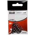Girador Celta Crane Black Ct1001 Nº06 67lb Cartela com 20un