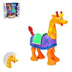 Girafa Musical Infantil Art Brink Acende Luz e Toca Musica