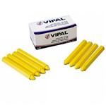 Giz de Cera Amarelo Caixa com 12 Pecas - Giz-3 - Vipal